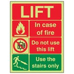 Fire Action Lift - Portrait