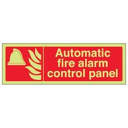 GITD Automatic Fire Alarm Control Panel - Landscape