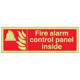 GITD Fire Alarm Control Panel Inside - Landscape