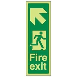 GITD Portrait Fire Exit Arrow Up Left