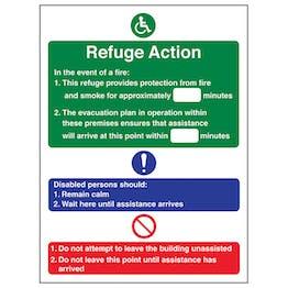 Refuge Action - Portrait