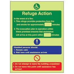 GITD Refuge Action - Portrait