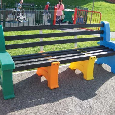 Multicoloured Play Table & Seat Set