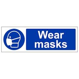 Wear Masks - Landscape