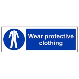 Wear Protective Clothing - Landscape