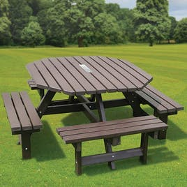 Memorial Octagonal Picnic Table