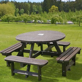 Memorial Round Picnic Table