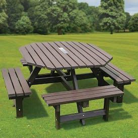 Memorial Octagonal Picnic Table