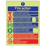 GITD Fire Action - Call Fire Brigade - Multilingual