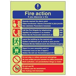 GITD Fire Action - Call Fire Brigade - Multilingual