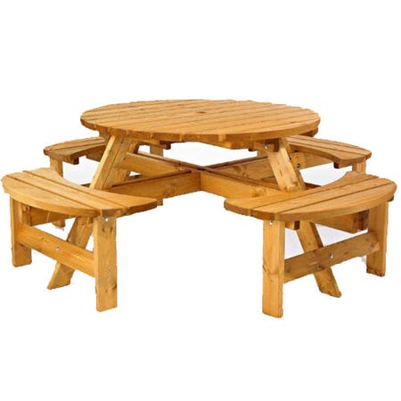 Padstow Round Picnic Table