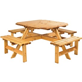Polzeath Octagonal Picnic Table