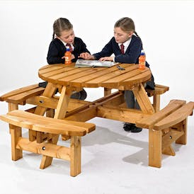 Helston Junior Round Picnic Table