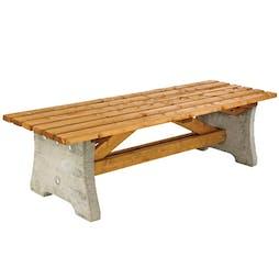 Wadebridge Backless Bench