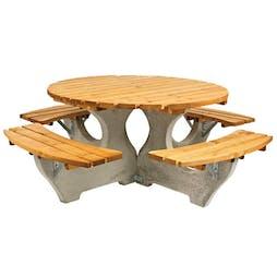 Wadebridge Round Picnic Table