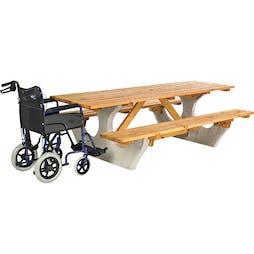 Wadebridge Wheelchair Access Picnic Table