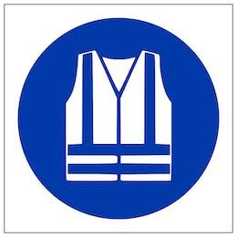 Hi Viz Jacket Symbol