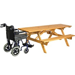 Padstow Wheelchair Access Picnic Table