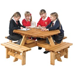 Polzeath Junior Octagonal Picnic Table