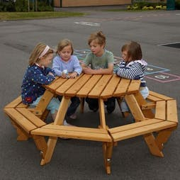 Infant Octagonal Picnic Table