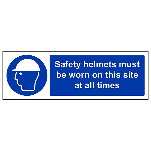Hard Hats Must Be Worn At All Times