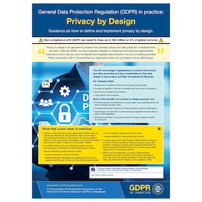 GDPR In Practice Poster - Privacy By Design