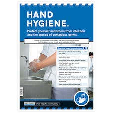 Hand Hygiene Safety Poster