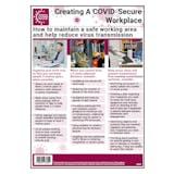 Safe Working Area & Reduce Virus Transmission Poster