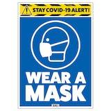Stay COVID-19 Alert - Wear A Mask