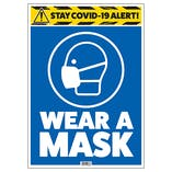 Stay COVID-19 Alert - Wear A Mask