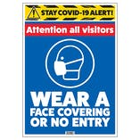 Stay COVID-19 Alert - Attention Visitors
