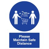 Please Maintain Safe Distance