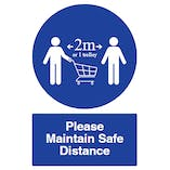 Please Maintain Safe Distance