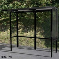 Open Front Bus Shelter