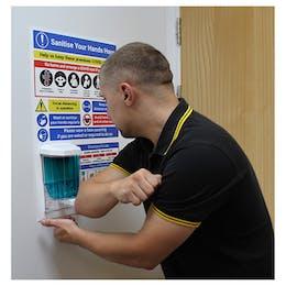 Site Safety Manual Dispenser Station