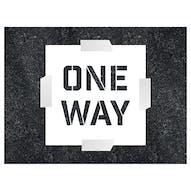 One Way Stencil