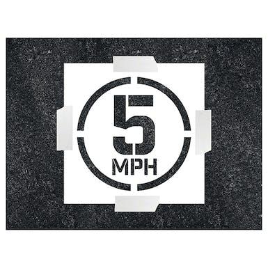 5MPH Stencil