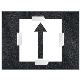 Any Direction Arrow Stencil