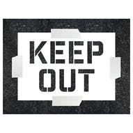 Keep Out Stencil
