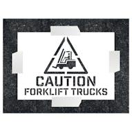 Caution - ForkLift Trucks Stencil