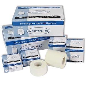 Standard Zinc Oxide Tape – 5m Rolls