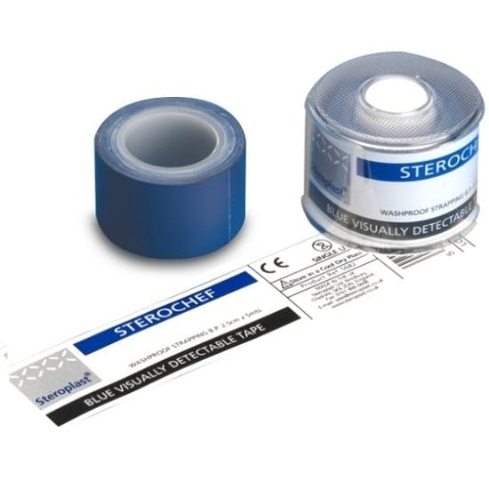 Steroplast Blue Washproof Tape