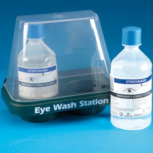 Steroplast Double Eye Wash Station