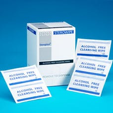 Sterowipe Alcohol Free Cleansing Wipes