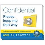 GDPR In Practice Stickers - For Desk Trays & Folders