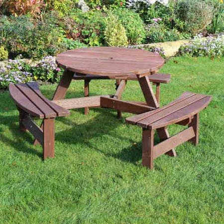 Sturminster Round Picnic Table