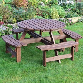 Sturminster Round Picnic Table