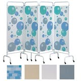Sunflower 4 Panel Medical Screens