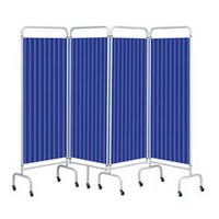 Sunflower 4 Panel Screen With Disposable Curtains