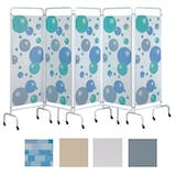 Sunflower 5 Panel Medical Screens
